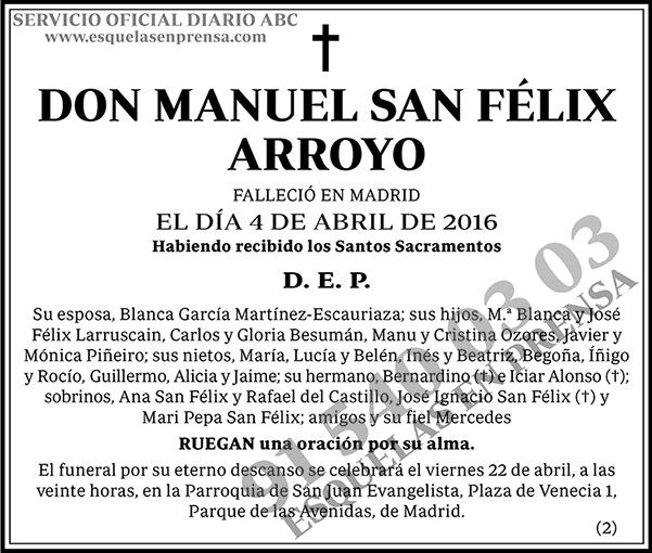 Manuel San Félix Arroyo